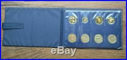1980 CHINA Summer & Winter Olympics 8-COIN Copper PF Cameo Low Mintage Set #7112