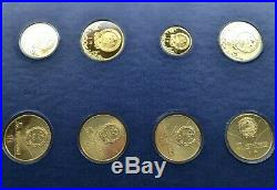1980 Olympic Coins Jinhuang Copper Proof Set Very Rare
