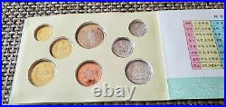1983 People's Republic of China 7-Coin Mint Set with Year of the Pig Medal