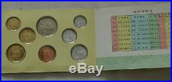 1983 Peoples Bank of China 8 pc Coin Set Mint Uncirculated Rare