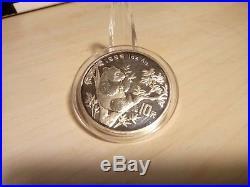1989 1990 1995 1997 2000-2013 1oz Silver China Panda Bullion Coin Set (19 coins)