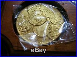 1991 China 10th Anniversary Panda Collection 4 coin Gold Silver Set Box COA