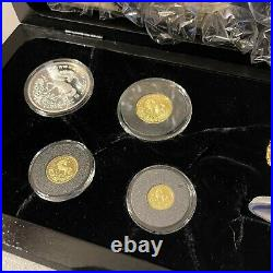 1994 China Unicorn 4 piece proof set coin collection
