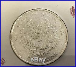 2 Chinese Silver Dollars Coin Set Manchu/Sun Yat-Sen Washington Mint
