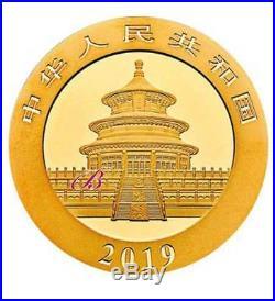2 Goldmünzen China Panda 2019 Set 1 g und 3 g (Feingold 4 g)