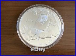 2007 China 1/20oz Gold 20 Yuan & 1oz Silver 10 Yuan Panda Coin Set Boxed & COA