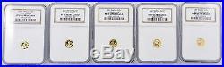 2007 China Gold Panda 25th Anniversary 1/25 Oz. 25-Coin Proof Set NGC PF69 Ultra