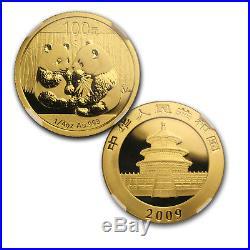 2009 China 5-Coin Gold Panda Set MS-69 NGC SKU#162414