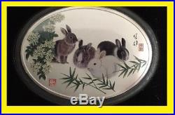 2011 China 1.9 Oz Gold Panda Prestige 6 Coins Set Pcgs First Strike Rare