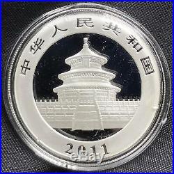 2011 Commemorative Coin Set Panda 3 Coins 1oz. 999 Silver Round (VD0004)