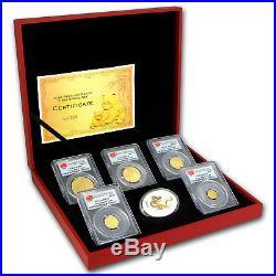 2012 China 5-Coin Gold Panda Prestige Set MS-70 PCGS (FS) SKU#117970