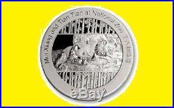 2014 China Smithsonian Gold&silver Panda 5 Coins Set Ngc Pf 70 Uc
