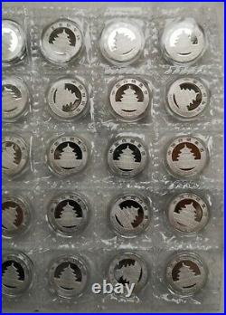 2017 the 35th ANNIV of China gold panda coin silver medal 175g set