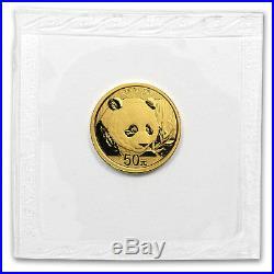 2018 China 5-Coin Gold Panda Set BU (Sealed) SKU#158630
