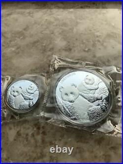 2020 China Panda Medals Whole Set (9 pcs) 8th China Panda Coins Expo