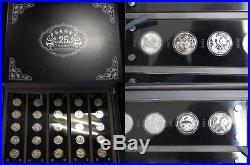 25 x 3 Yuan Silbermünzen Set 2007 Panda Jubiläumsset Polierte Platte mit Box