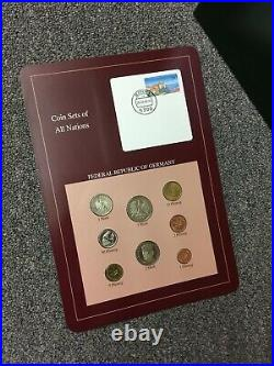 4 Volumes Coin Sets of All Nations by Franklin Mint 119 countries incl. China