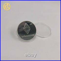 4sets Gold/silver Bitcoin Ada Cardano Crypto Ethereum/Litecoin/Dash Coin gift