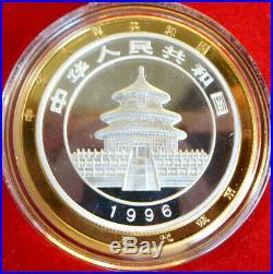 5 Coin Set Gold & Silver Panda Gold Chinese Yuan Set China Panda Coa Great Gift