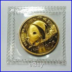 999 Fine Gold Chinese 1987-S Panda Coin Rare Set