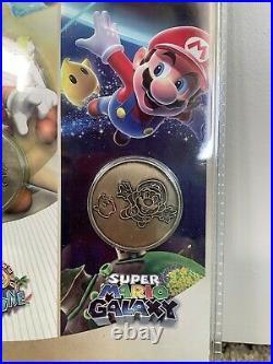 Bundle! Super Mario Bros 35th Anniversary PIN SET #2 Pre-order & COIN SET