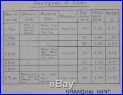 CHINA 1982 & 1983 Proof Sets 16 COINS RARE DOG and PIG MS SHANGHAI MINT Wood Box