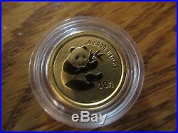 CHINA 2000 PANDA GOLD and SILVER SET 5 COINS