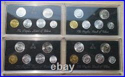China 1993+1994+1995+1996 Currency Coins Set Complete 24 Coins