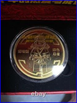 China 2021 LEGO Ninjaga Legacy 10th Anniversary Green Ninjia Coin