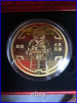 China 2021 LEGO Ninjaga Legacy 10th Anniversary Water Ninjia Coin