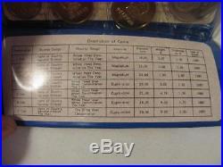 China, People's Bank 1980 Mint Set Original Blue Mint Packaging 7 Coin Set