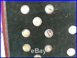 Chinese Panda Coins 50 Coin set