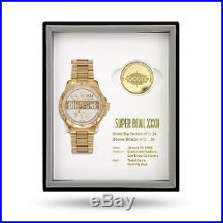 Denver Broncos Super Bowl Watch & Coin Gift Set Limited 50 sets MSRP $375