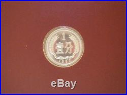 Franklin Mint Coin Sets of All Nations 1981 Peoples Republic of China Proofs