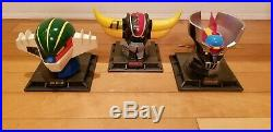 HL Pro set of 3 Coin Banks Grendizer Mazinger Z Kotetsu Jeeg
