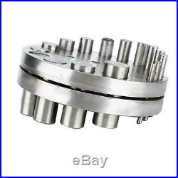 Jewelry Punch Die Disc Cutter Set Jewelry Metal Plate Hole Coin Cutting Tool