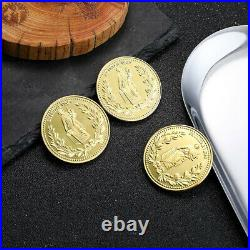 John Wick Gold Coins Blood Oath Marker Movie Prop Replica Collectible Gift