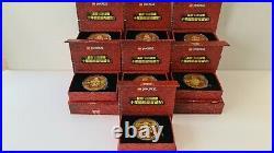 Lego Ninjago Legacy COMPLETE golden Coin Collection 10th Anniversary ultra rare