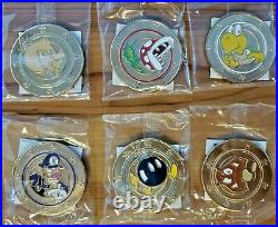 Nintendo Wonderball Coins Super Mario Officially Licensed Full Set 18