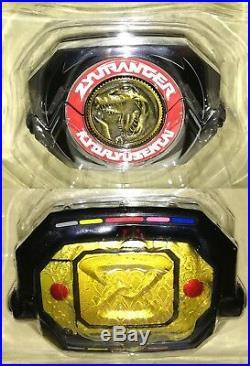 Power Rangers Kyoryu Sentai Zyuranger Dino Buckler & Coins set Bandai 2016 Rare