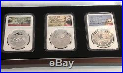 Smithsonian Institution Panda Issue Set PF70 Ultra Cameo 2014 2015 2016 1oz Coin