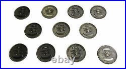 US Navy Seal Team Set Challenge Coin 29